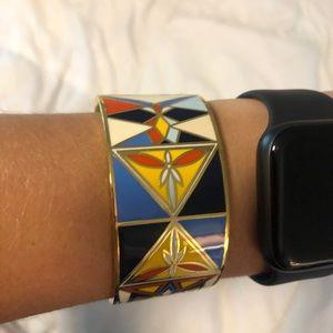 Tory Burch Jewelry - Tory Burch enamel cuff